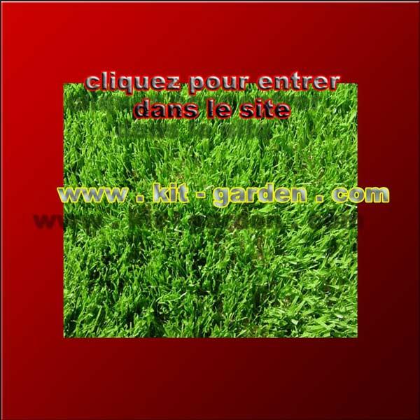 Kit garden c 39 est la belle pelouse artificielle et le beau gazon synth tiq - Fausse pelouse interieur ...